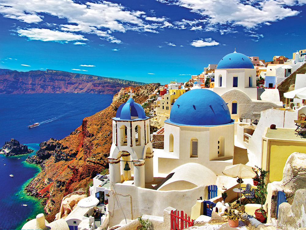 Santorini South Side Half Day Tour