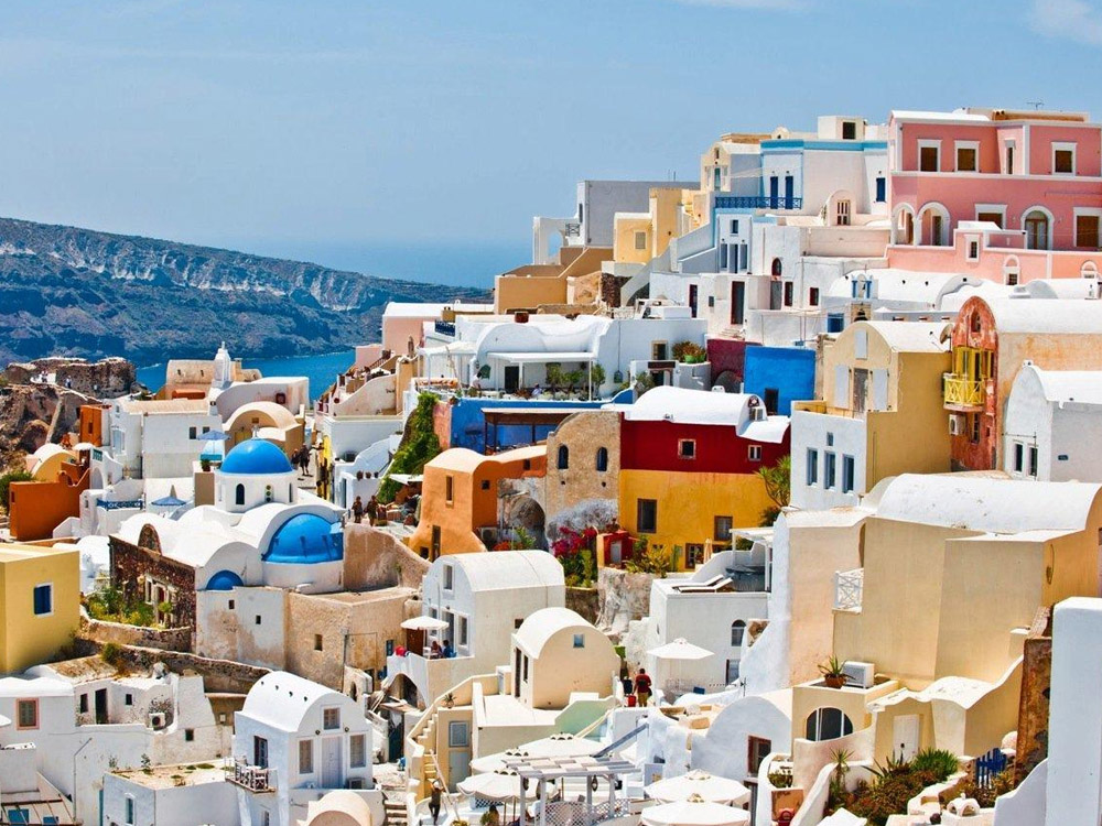 Santorini Half Day Mini Bus Tour